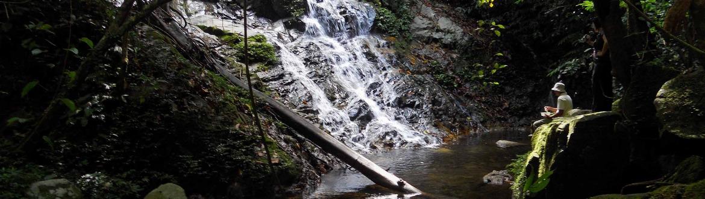 Chilling in waterfalls at Belum Temenggor