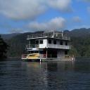 Floating hostel in Temenggor lake