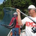 Fishing catch in Belum