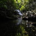 Stream with Waterfall, Belum