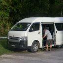 A van in Belum Temenggor