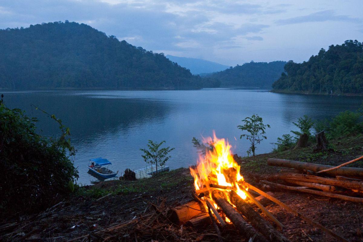 Campfire in Belum