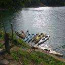 Kayaking activities at Temenggor Lake