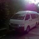 Minivan used in Belum