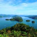 Pulau Banding, aerial view