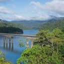 The bridge connecting Pulau Banding