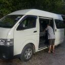 Van in service in Belum Temenggor