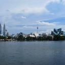 Kuala Lumpur view from Titiwangsa