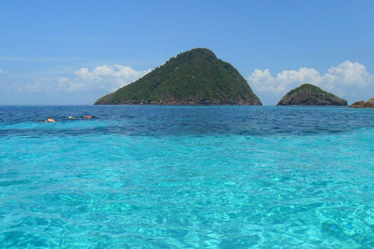 Sea in Perhentian Islands