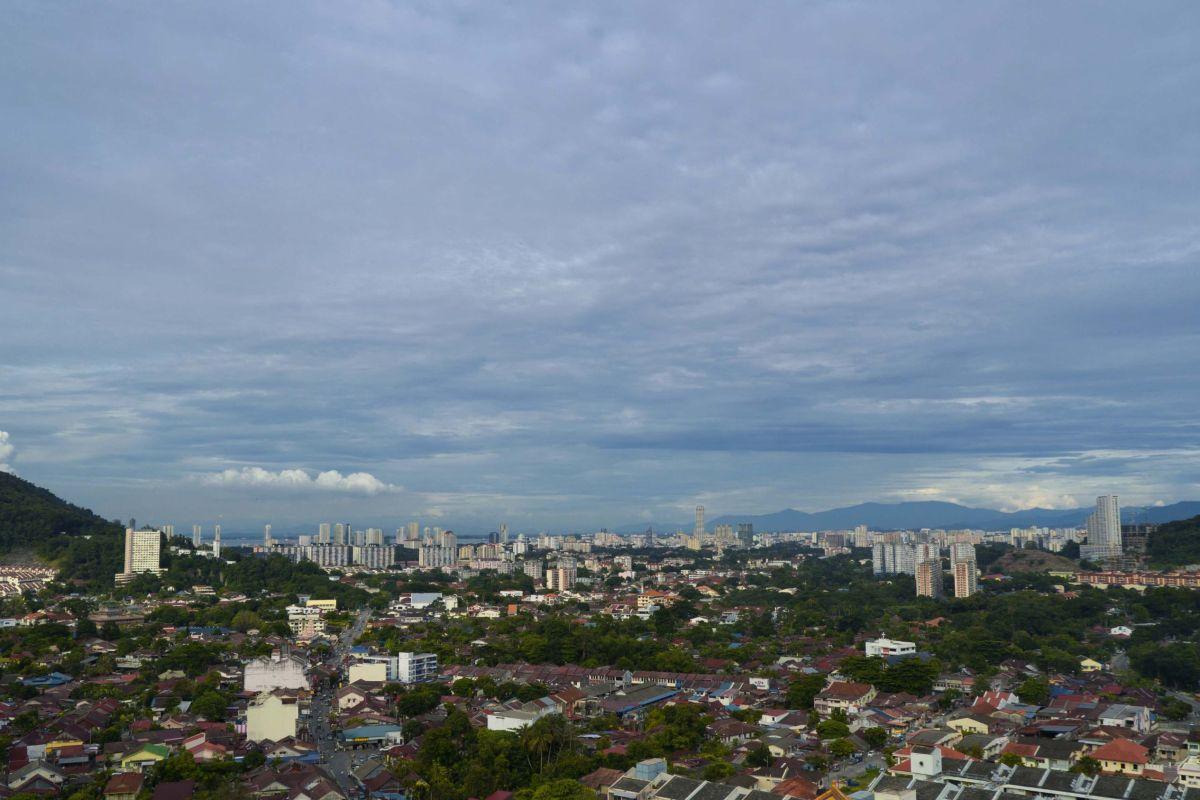 View of George Town from Ke Lok Si